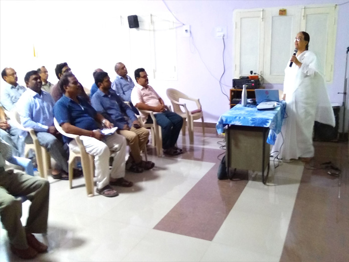 SCCL conducts seminar on stress management