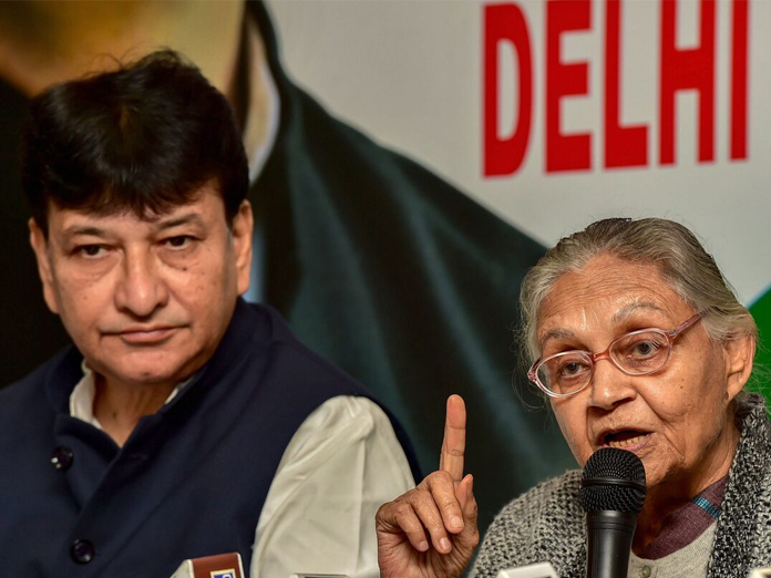 Sheila accuses  AAP of  making 'false' promises