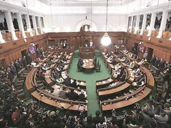 BJP MLAs marshalled out of House for pro-Modi slogans