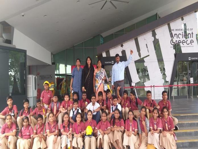 105 Sri Chaitanya students undertake two-nation tour