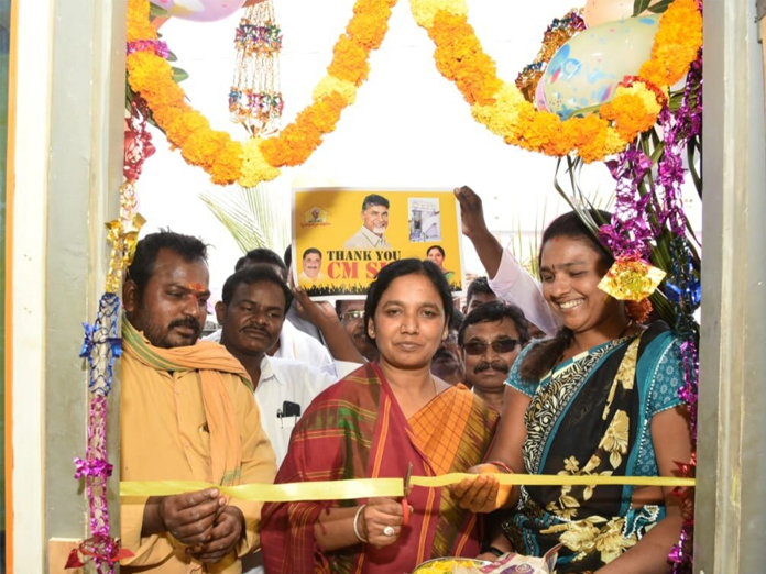 27,513 houses handed over to beneficiaries: Paritala Sunitha