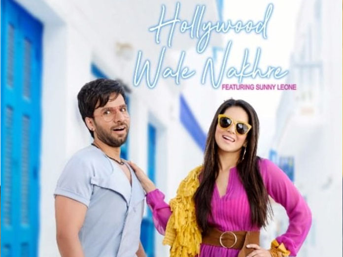 Sunny Leone Unveils Hollywood Wale Nakhre First Look