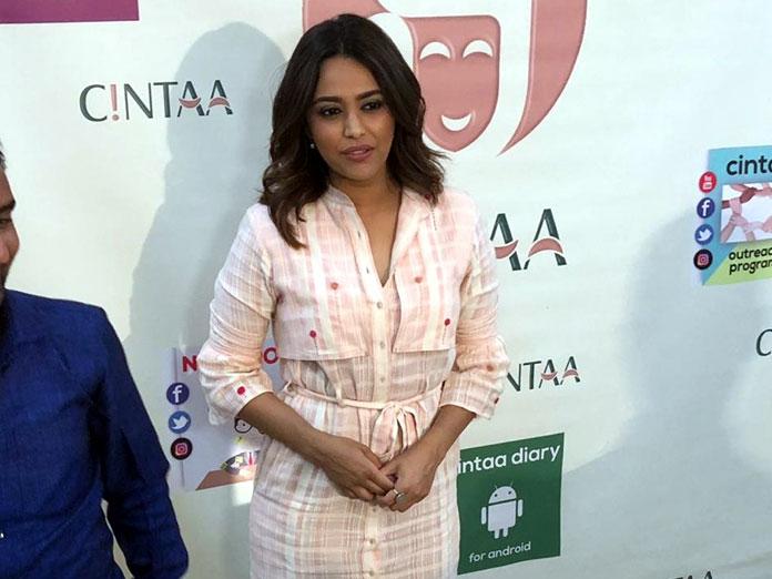Actors take most of the credit but filmmaking is a team effort says Swara Bhaskar