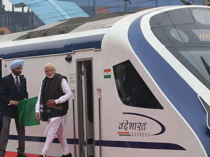 Indias fastest train Vande Bharat achieves 130 kmph speed during inaugural run
