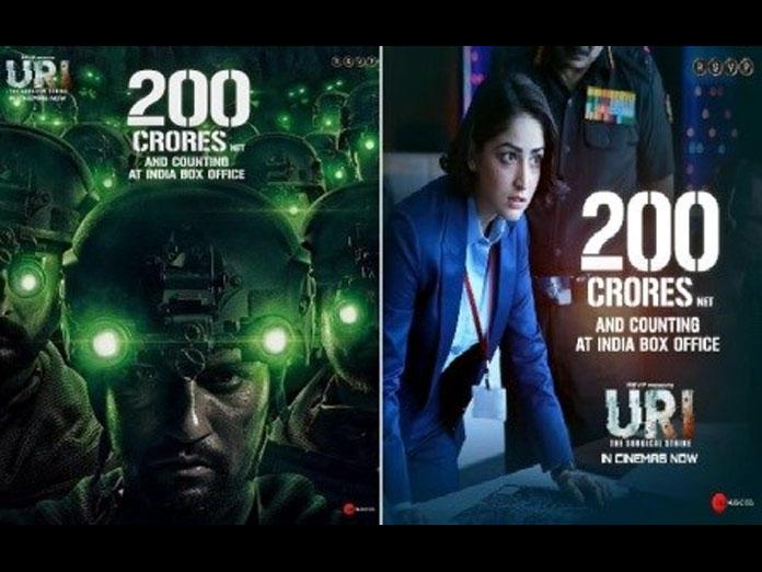 Vicky Kaushal And Yami Gautam Starring URI Crosses 200 Crore