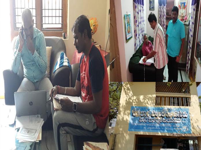 ACB raids office and home of Panchayat Raj DE