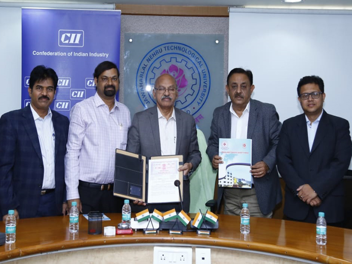 JNTU-Hyderabad, CII sign MoU on creating IP Ecosystem