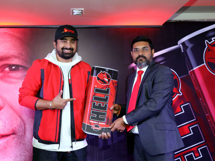 HELL ENERGY, a worldwide renowned energy drink brand, Launched in India