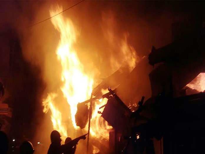 Bengal factory outlet fire: Five workers still missing