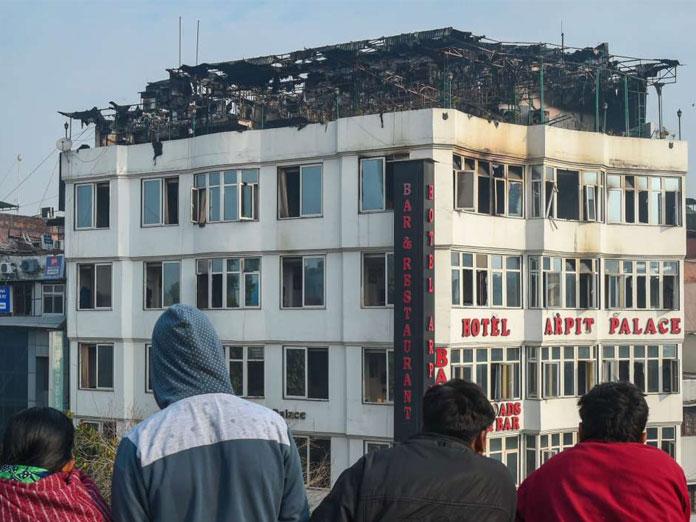 Karol Bagh fire: 2 Myanmarese women among 17 dead