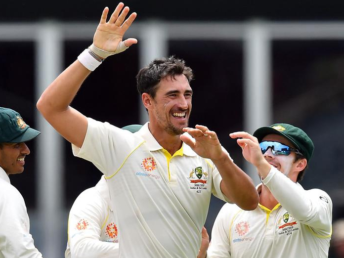 Mitchell Starc takes 10 to lead Australia to 2-0 series win against Sri Lanka