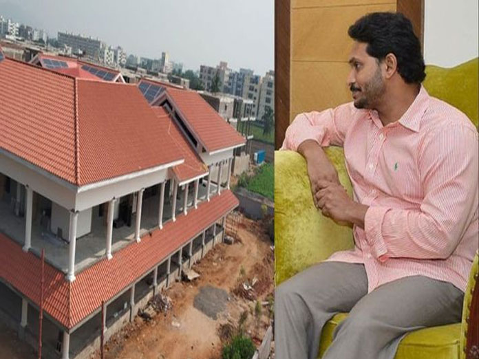 YS Jagan house warming ceremony in Tadepalli on 27 February