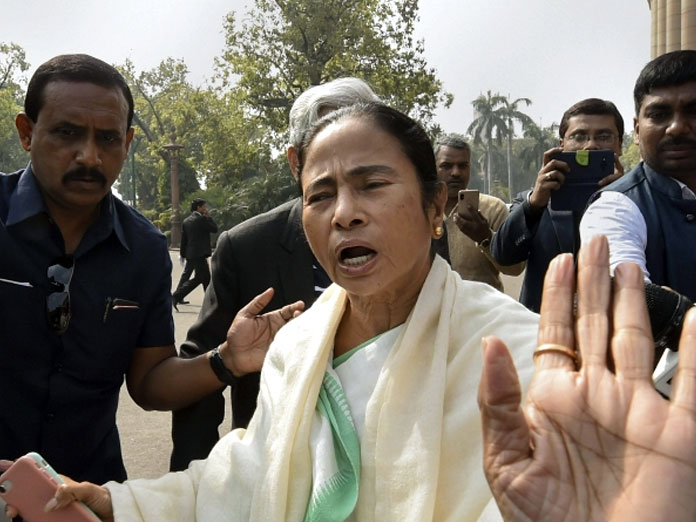 Mamata, other Opposition leaders take part in mega rally in Delhi