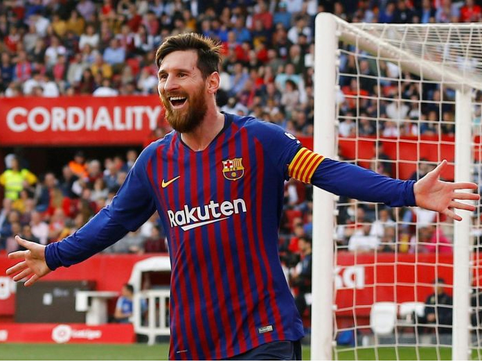 Decisive Lionel Messi downs Sevilla with 50th career hat-trick
