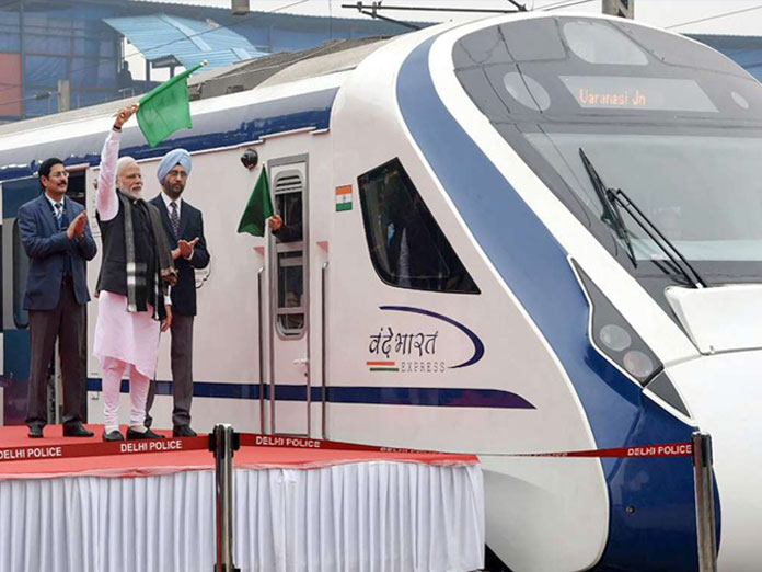 Day after flag-off, Vande Bharat Express runs into trouble twice