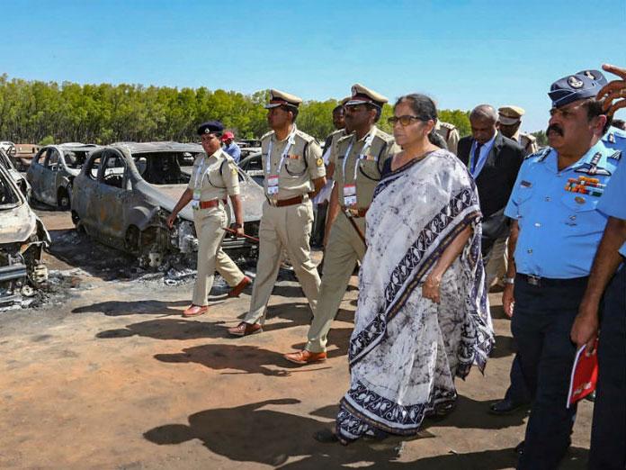Overheated Silencer May Have Led to Aero India Blaze, Officials Tell Nirmala Sitharaman