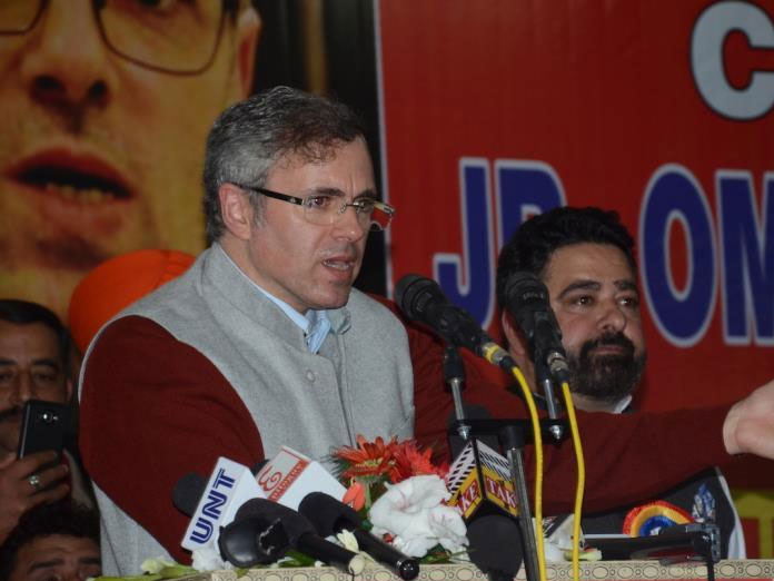 J-K Governor failed in his primary responsibility, should visit the injured: Omar