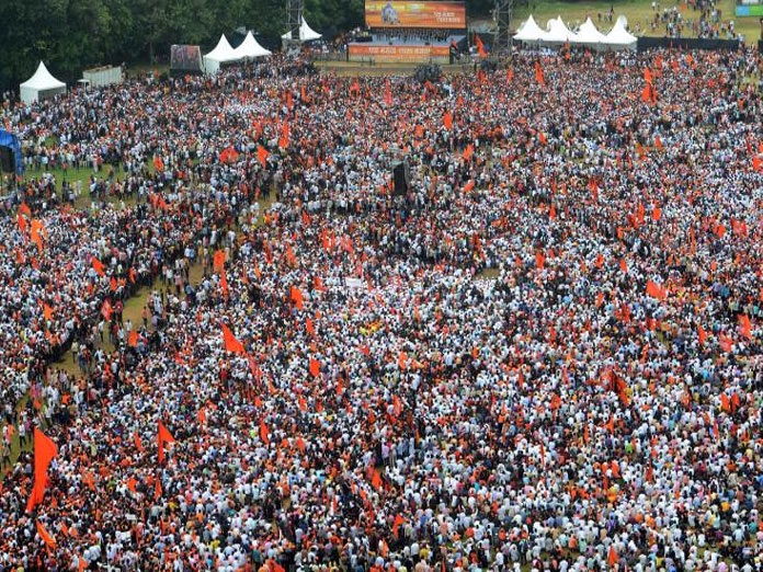 Maratha Kranti Morcha not to back major parties in LS polls for neglecting demands