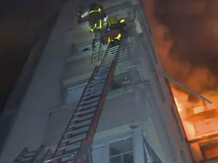 1 arrested, arson suspected in Paris fire: prosecutor