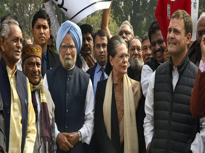 Congress defeating BJP in ideological fight, Modi