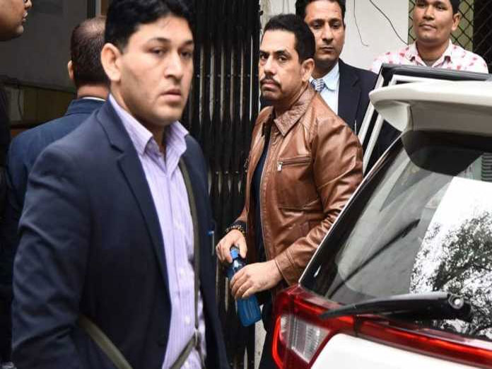 Vadra appears for ED questioning in money laundering case