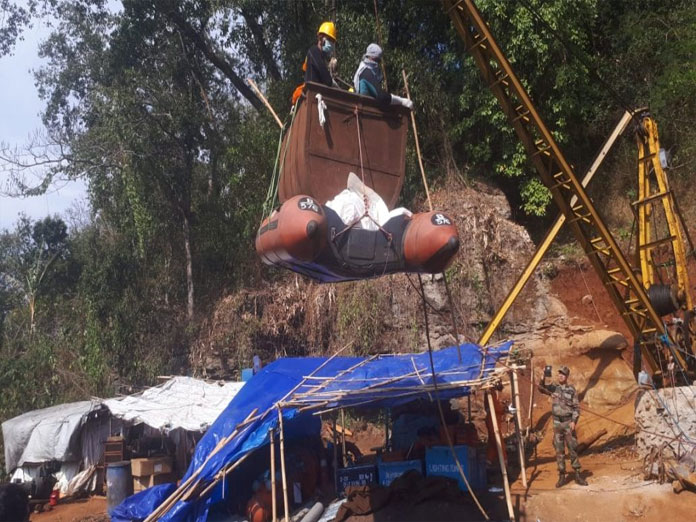 Second body recovered retrieved from Meghalaya coal mine