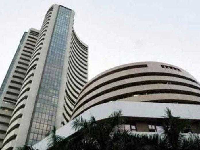 Sensex slumps over 200 points after IAF missile strikes
