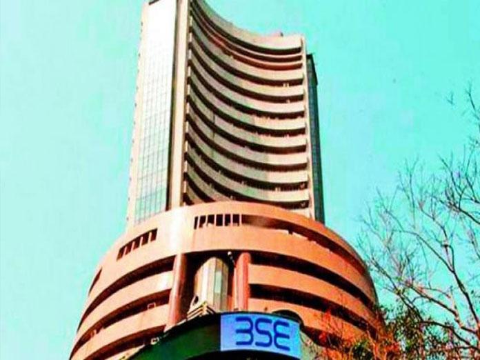 Sensex jumps 360 points, Nifty at 11,055