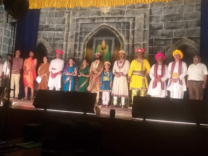 Vimal Natya Samaj celebrates Shiva Jayanti with historical play
