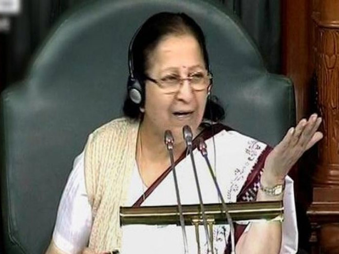 Air Force showed bravery like Lord Hanuman, says Sumitra Mahajan