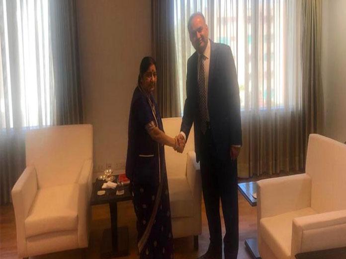 Pakistan parliamentarian meets PM Modi, EAM Sushma Swaraj