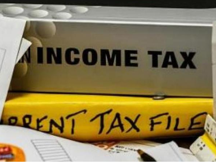 Income Tax officials are conducting raids on real estate firm in Hyderabad