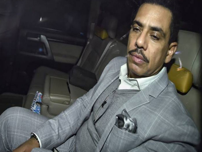 Vadra appears before ED for questioning in money laundering case