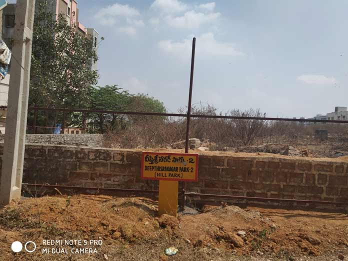Land meant for school encroached