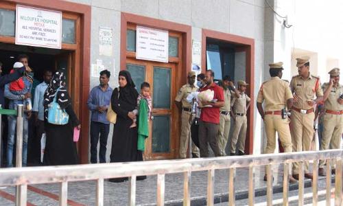 Outrage over infant's death at Niloufer