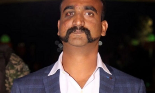 Beard it like Abhinandan!