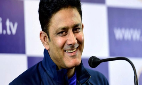 Anil Kumble's elevation welcome