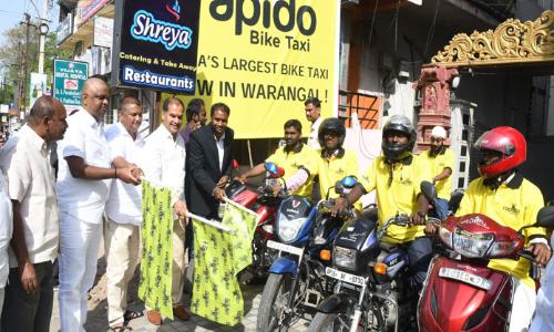 Rapido kick-starts operations at Warangal