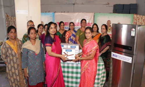 SBIs ladies club support to NGO