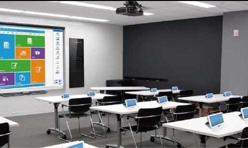 Smart classrooms for NSUT