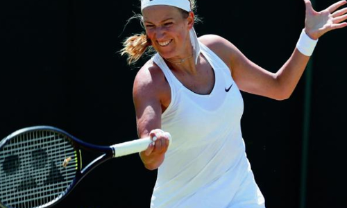 Indian Wells champ Azarenka sets up second-round meeting with Serena