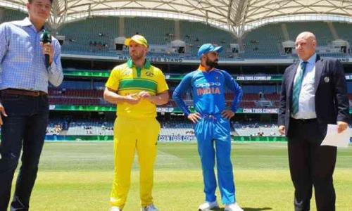 Australia to field vs India in 2nd ODI