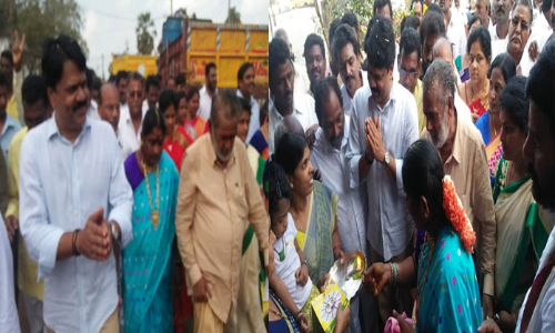 Kakinada rural MLA kickstarts campaign for 2019 Assembly polls