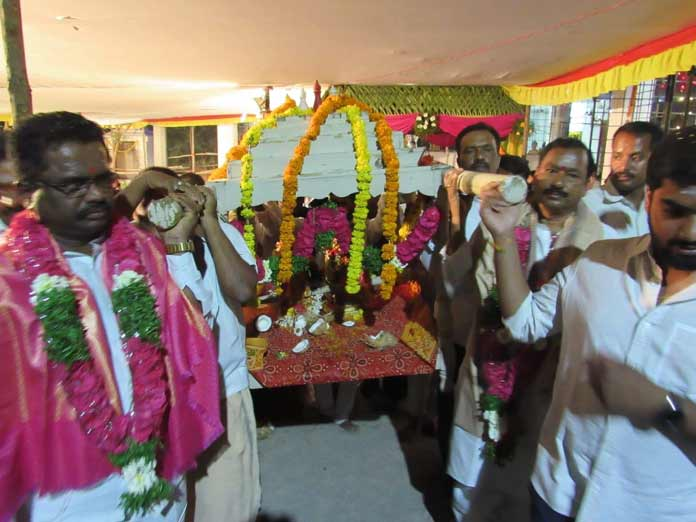 Celestial wedding of Shiva, Parvathi held