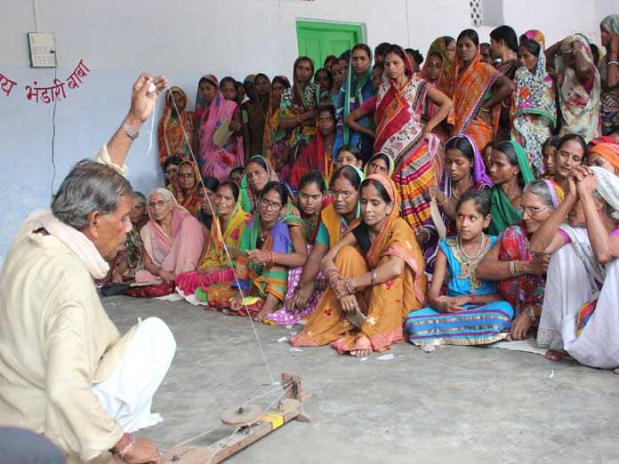 Handloom workshop