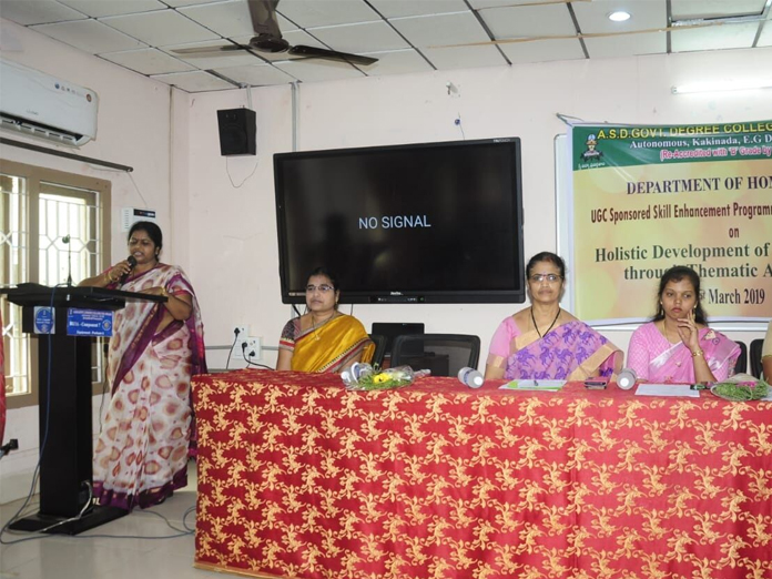 Skill enhancement training for pre-school teachers held in kakinada