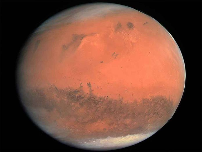 Mars orbiter finds first evidence of ancient groundwater system on Red Planet
