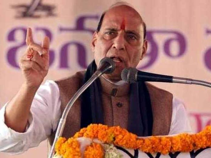 Rajnath Singh launches Rs 1,900 crore infra projects of CAPFs, others