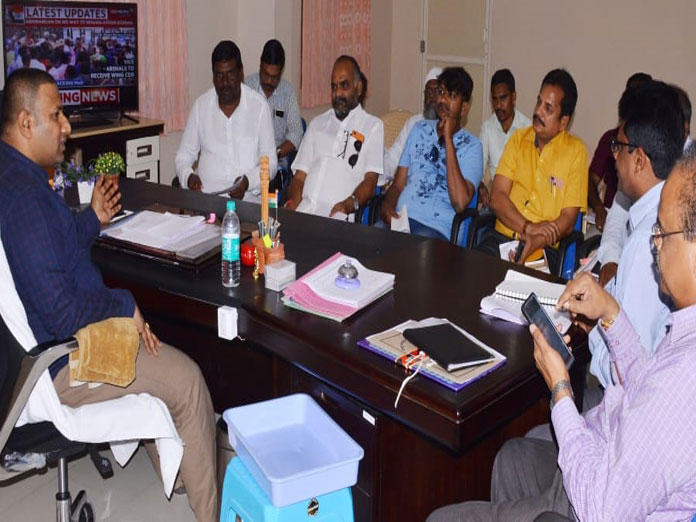 Collector calls for political parties support for smooth conduct of LS polls