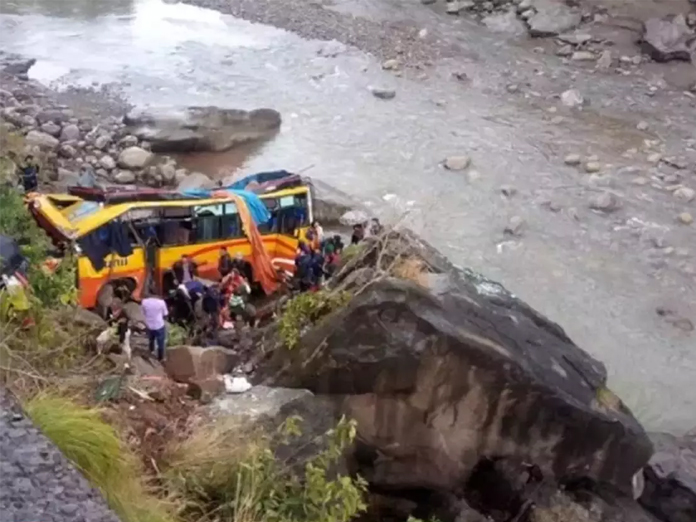 6 dead, 31 injured as bus falls into gorge in J&Ks Udhampur